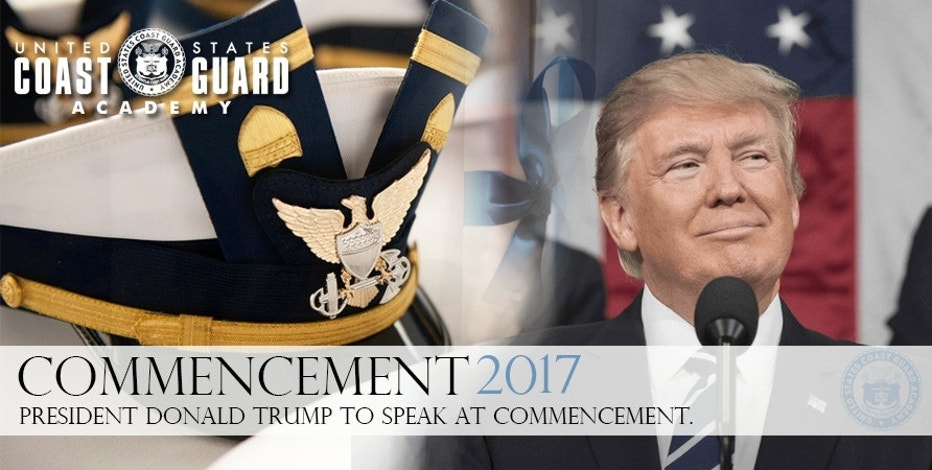 Trump Coast Guard Commencement FBN