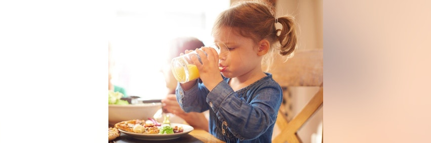 Juice manufacturers agree with juice ban in kids under 1