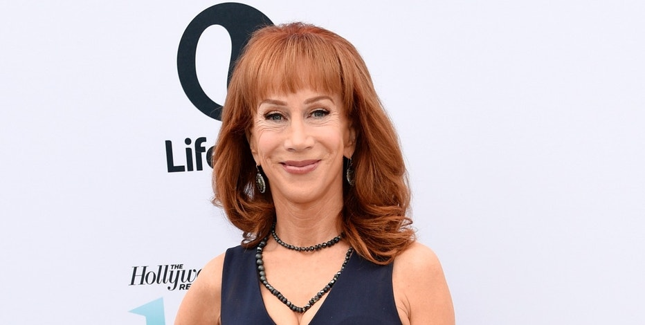 "FILE - In this Dec. 7, 2016 file photo, comedian Kathy Griffin poses at The Hollywood Reporter's 25th Annual Women in Entertainment Breakfast in Los Angeles. Griffin's video holding what was meant to look like President Donald Trump's severed head, has resulted in a lost endorsement deal and at least one club engagement for the comedian. Griffin has apologized, conceding that the brief video, which she originally described as an ""artsy fartsy statement"" mocking the commander in chief, was ""too disturbing"" and wasn't funny. (Photo by Chris Pizzello/Invision/AP, File)"
