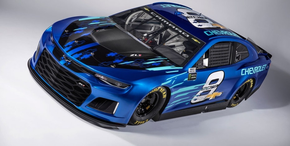 Chevrolet Camaro ZL1 Nascar Cup Car unleashed