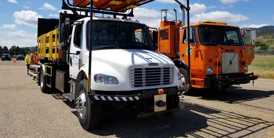 Colorado introduced the Autonomous Impact Protection Vehicle (AIPV), which officials say is the first driverless construction truck to be put into action.