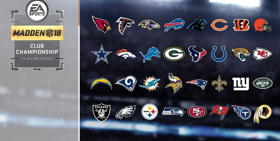 Each NFL team commits to compete in debut Madden NFL Club Championship