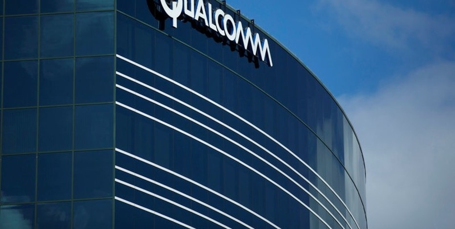 FILE PHOTO - One of many Qualcomm buildings is shown in San Diego, California, U.S. on November 3, 2015.   REUTERS/Mike Blake/File Photo