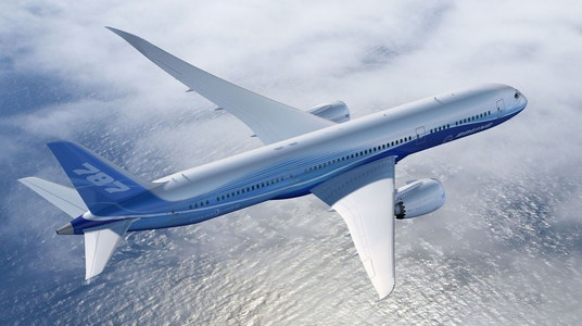 Boeing receives order from Turkish Airlines for 40 Dreamliners