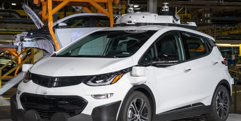 General Motors announces Tuesday, June 13, 2017, the company has completed production of 130 Chevrolet Bolt EV test vehicles equipped with its next generation of self-driving technology at its Orion Assembly Plant in Orion Township, Michigan. The vehicles will join the more than 50 current-generation self-driving Bolt EVs already deployed in testing fleets in San Francisco; Scottsdale, Arizona; and metro Detroit. (Photo by Steve Fecht for General Motors)