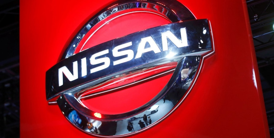 The Nissan logo is seen at the company's display area during the North American International Auto Show in Detroit, Michigan, U.S., January 10, 2017.  REUTERS/Mark Blinch