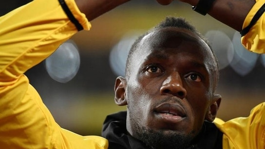 Usain Bolt says he's serious about a soccer career