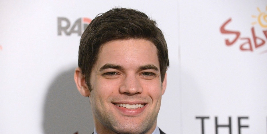 Cast member Jeremy Jordan attends the premiere of