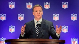 NFL's Roger Goodell not worried about TV ratings despite backlash over kneeling, concussions