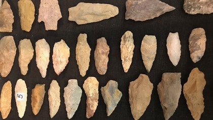Strange Inheritance: Quarter-million ancient arrowheads coveted by John Wayne