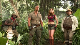 'Jumanji' tops box office for third straight weekend