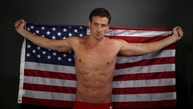 "Swimmer Ryan Lochte poses for a portrait at the U.S. Olympic Committee Media Summit in Beverly Hills, Los Angeles, California March 7, 2016. REUTERS/Lucy Nicholson SEARCH ""THE WIDER IMAGE"" FOR ALL STORIES. - RTS9QW4"