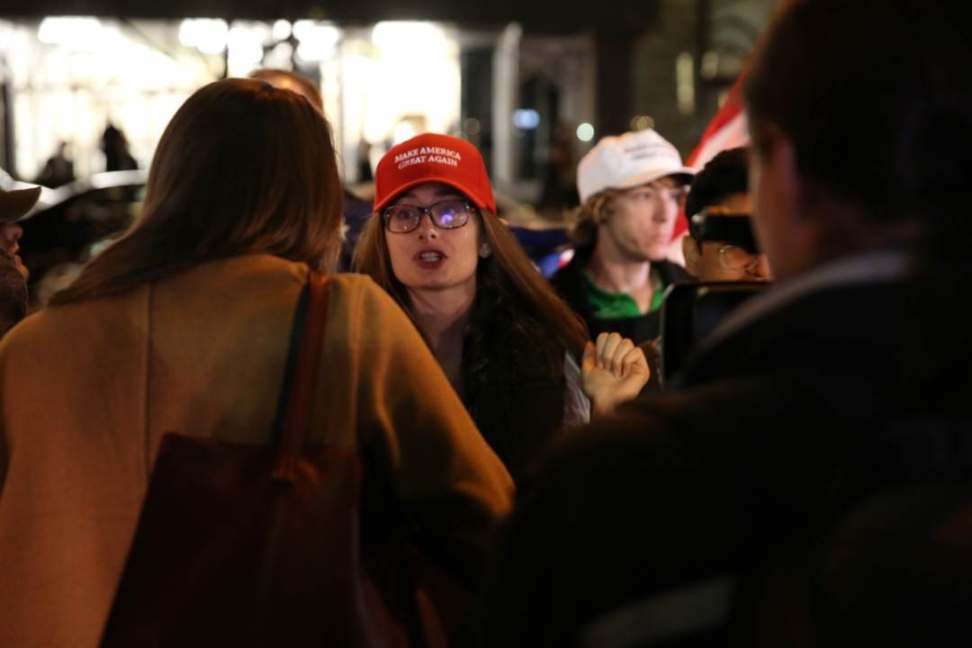 Election Night in NYC: Snapshots from Donald Trump's HQ ...