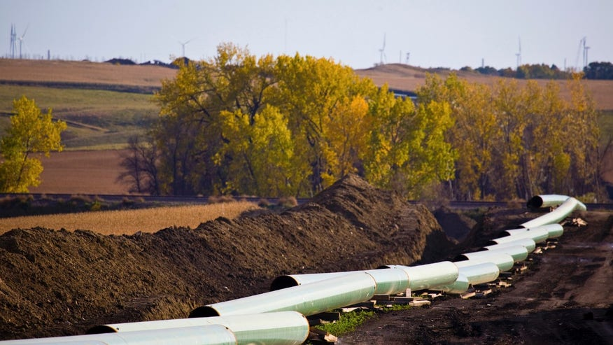 Blocking the Keystone Pipeline?