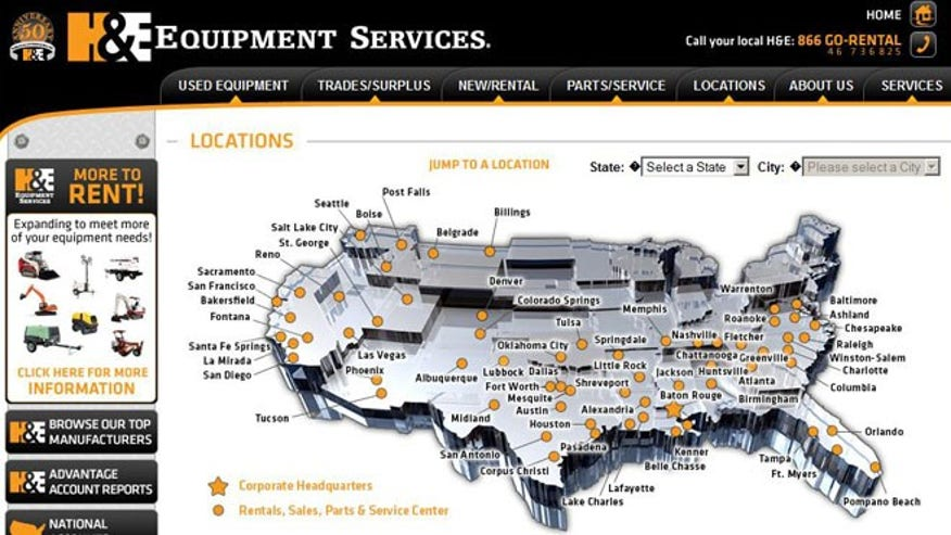 H&E Equipment Services (NASDAQ:HEES)
