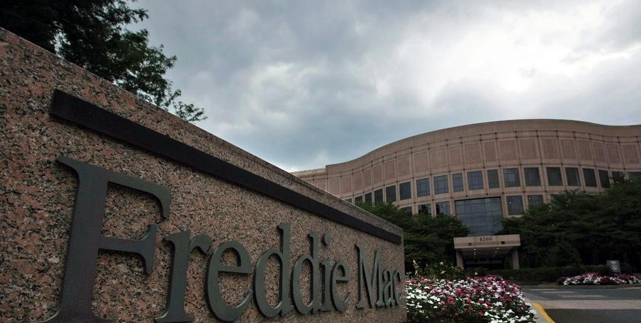 FILE - This July 13, 2008, file photo shows the Freddie Mac corporate office in McLean, Va. Freddie Mac reports quarterly financial results on Tuesday, Aug. 4, 2015. (AP Photo/Pablo Martinez Monsivais, File)