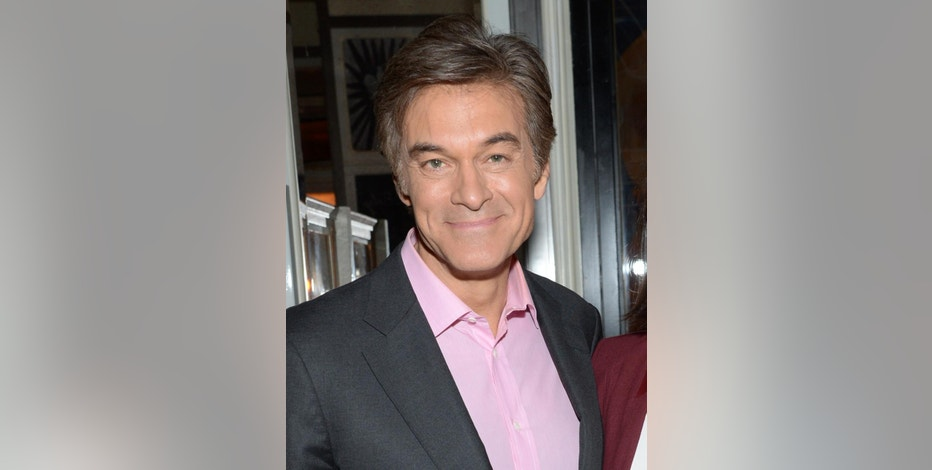 """FILE - In this Oct. 14, 2014 file photo, Dr. Mehmet Oz attends a special screening of """"Fury"""" in New York. The seventh season of """"The Dr. Oz Show"""" premieres Monday, Sept. 14. (Photo by Evan Agostini/Invision/AP, File)"""