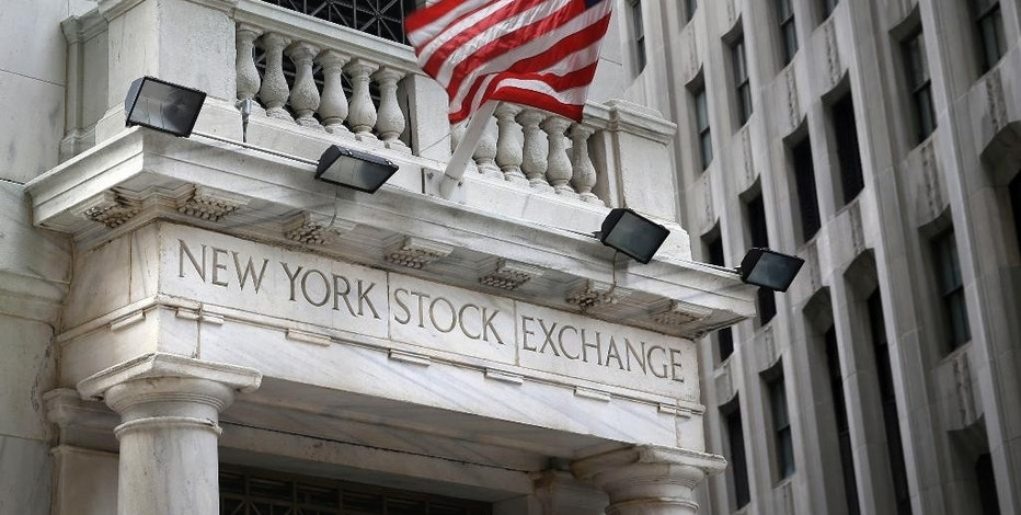 This Monday, Aug. 24, 2015, photo, shows the New York Stock Exchange. Asian stocks were mixed and Europe rose Monday, Sept. 14, 2015, after China reported weak factory output while investors looked ahead to this week's U.S. Federal Reserve decision on interest rates. (AP Photo/Seth Wenig)