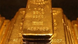Gold Gains as Global Markets Plunge