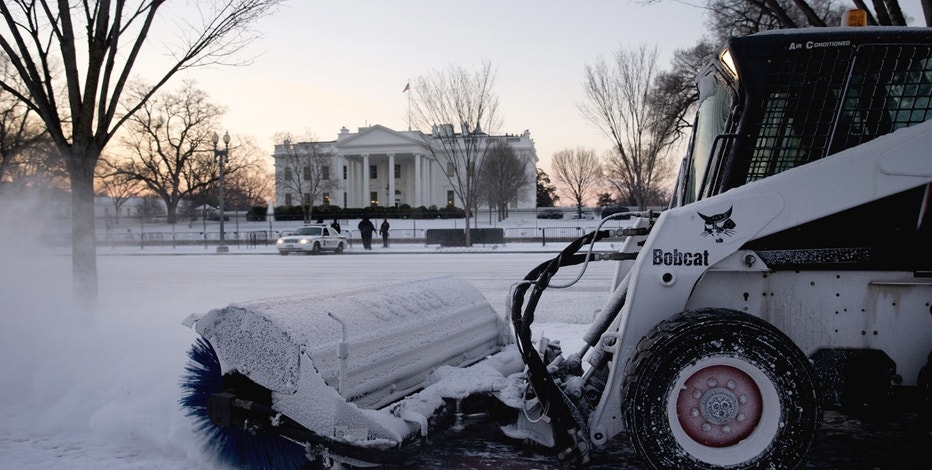 White House snow FBN