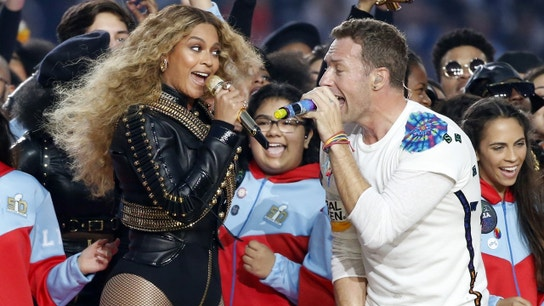 Beyonce, Bruno Mars heat up Coldplay's Halftime Show