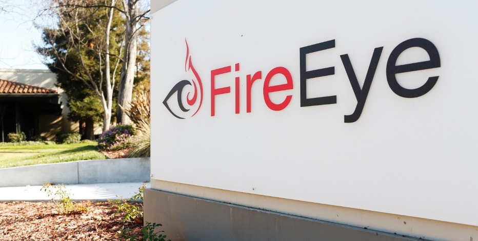 The FireEye logo is seen outside the company's offices in Milpitas, California, December 29, 2014. FireEye is the security firm hired by Sony to investigate last month's cyberattack against Sony Pictures. Picture taken December 29.     REUTERS/Beck Diefenbach (UNITED STATES - Tags: BUSINESS SCIENCE TECHNOLOGY CRIME LAW LOGO) - RTR4JTRG