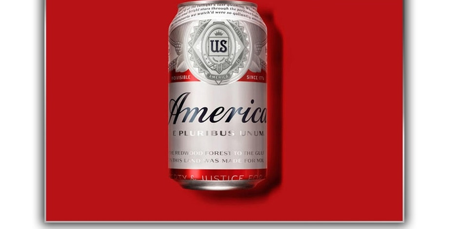 Budweiser America Graphic