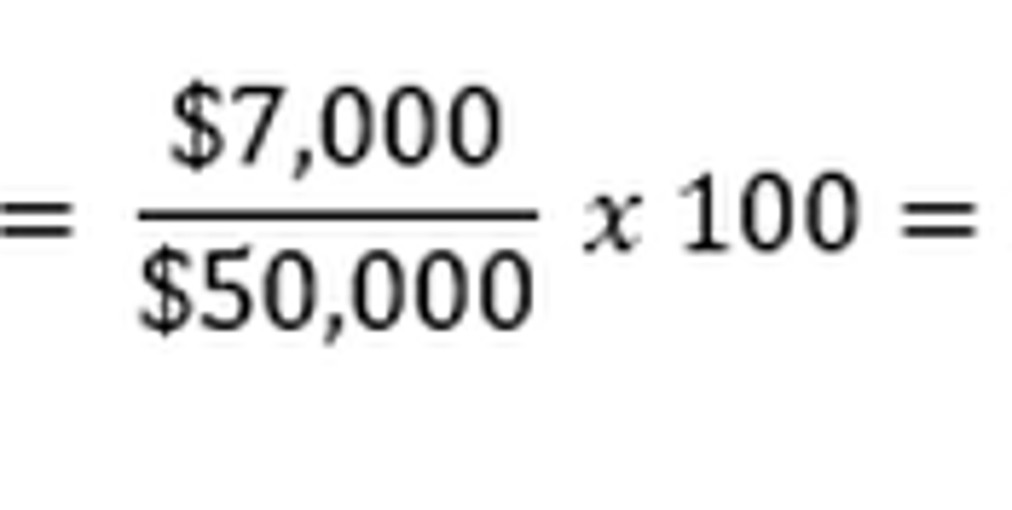 how to calculate percent change in revenue