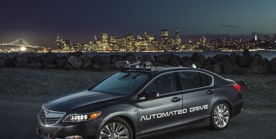 Honda takes another step toward self driving cars fox for Fox honda used cars