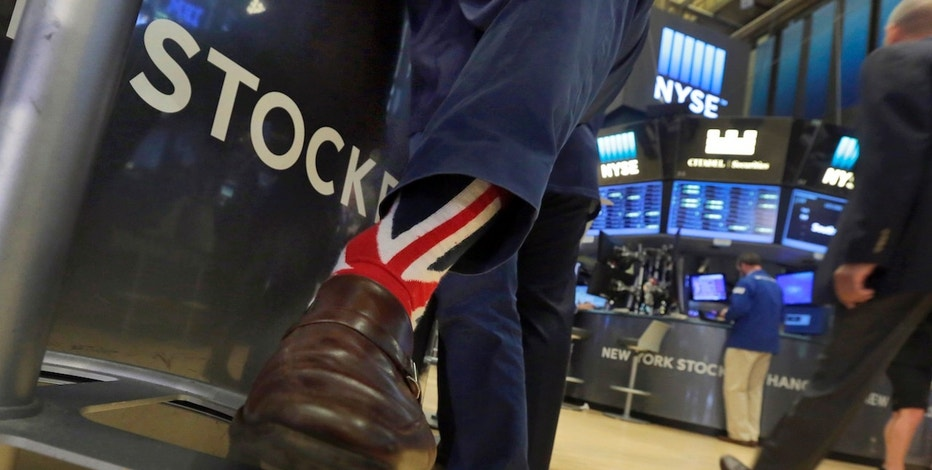 NYSE Trader Brexit, wall street, brexit