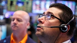 Stocks Pressured After Reaching Record Territory&#x3b; Poised For Weekly Gains