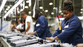 Mid-Atlantic Manufacturing Activity Contracts in July