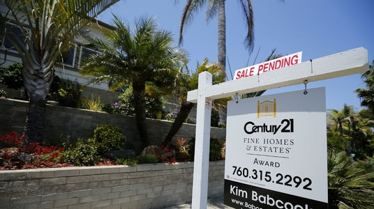 June's Pending Home Sales are Little Changed