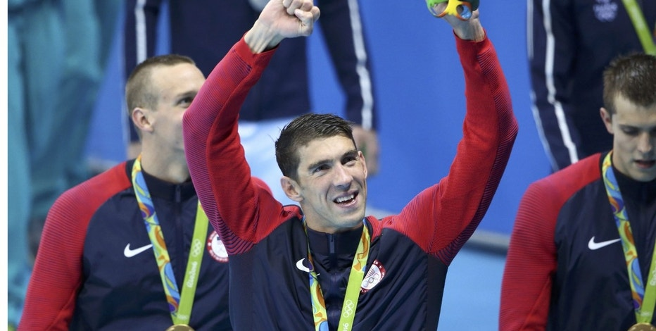 Phelps Relay  Reuters