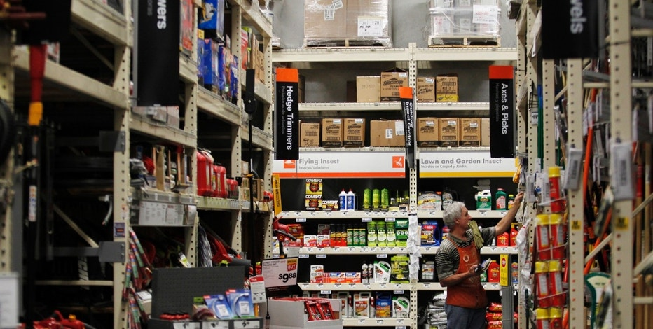 A Home Depot store is pictured in Daly City, California, February 21, 2012.