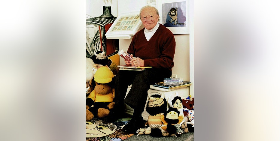 This undated photo provided by Scholastic Inc., shows Oscar-nominated filmmaker Morton Schindel. Schindel developed a technique to transform illustrations from children's books into moving images and produced more than 300 movies and 450 recordings. He died Saturday, Aug. 20, 2016, at age 98. (Chichi Ubina/Scholastic Inc. via AP)