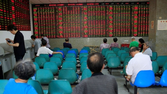 China  Shares Fall to 2-Week Low