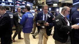 Financials Help Limit Losses from Tech Decline