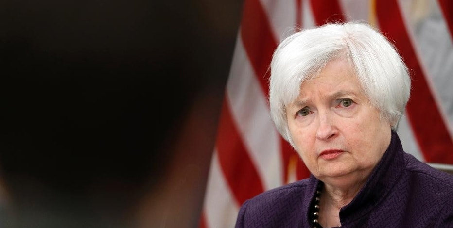 Federal Reserve Board Chair Janet Yellen listens to a reporter's question during a news conference on Federal Reserve's monetary policy, Wednesday, Sept. 21, 2016, in Washington. The Federal Reserve is keeping its key interest rate unchanged but signaling that it will likely raise rates before year's end.  (AP Photo/Alex Brandon)