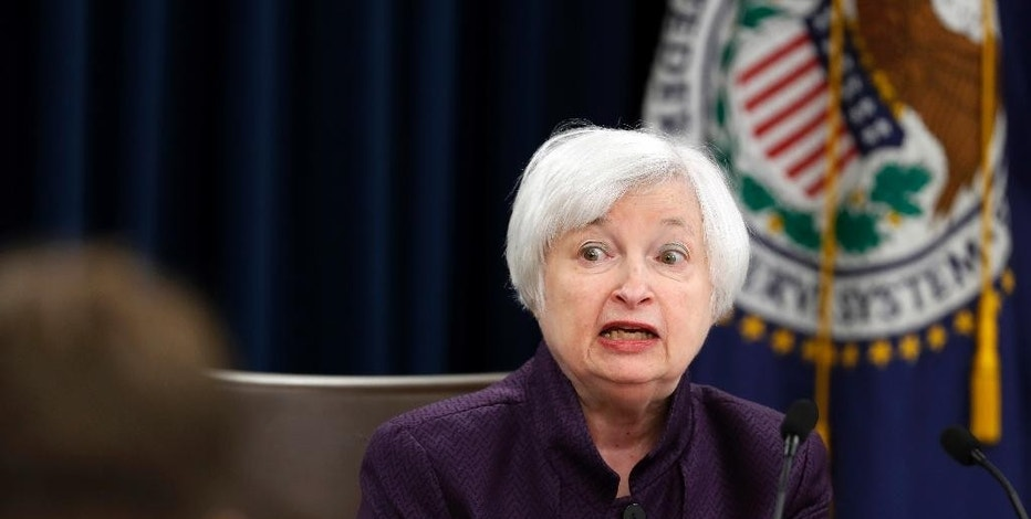 Federal Reserve Board Chair Janet Yellen answers a question during a news conference on Federal Reserve's monetary policy, Wednesday, Sept. 21, 2016, in Washington. The Federal Reserve is keeping its key interest rate unchanged but signaling that it will likely raise rates before year's end.  (AP Photo/Alex Brandon)
