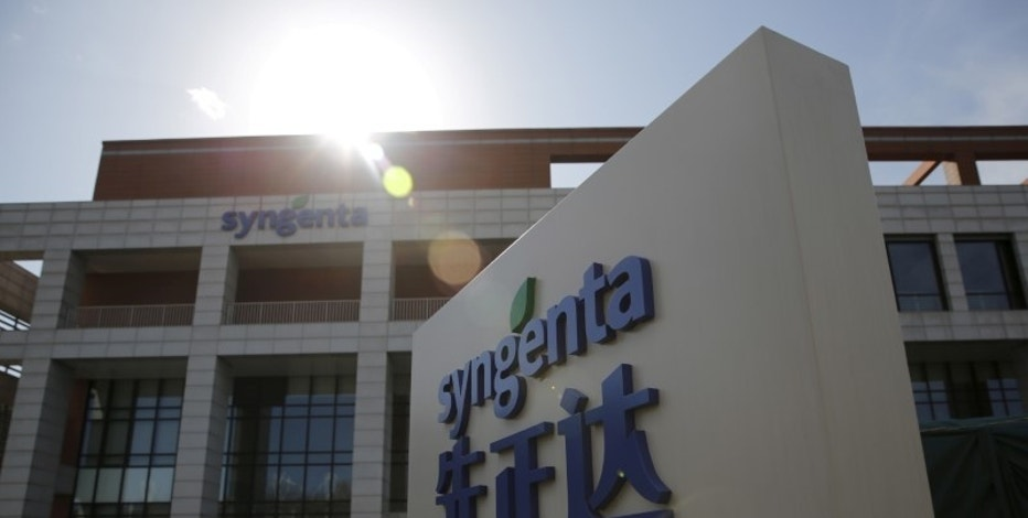 Syngenta's logo is seen at Syngenta Biotech Center in Beijing, China, February 19, 2016. REUTERS/Kim Kyung-Hoon/File Photo
