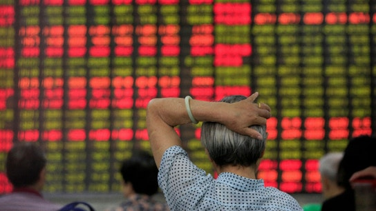 China Shares Up For the Day, Down For the Month