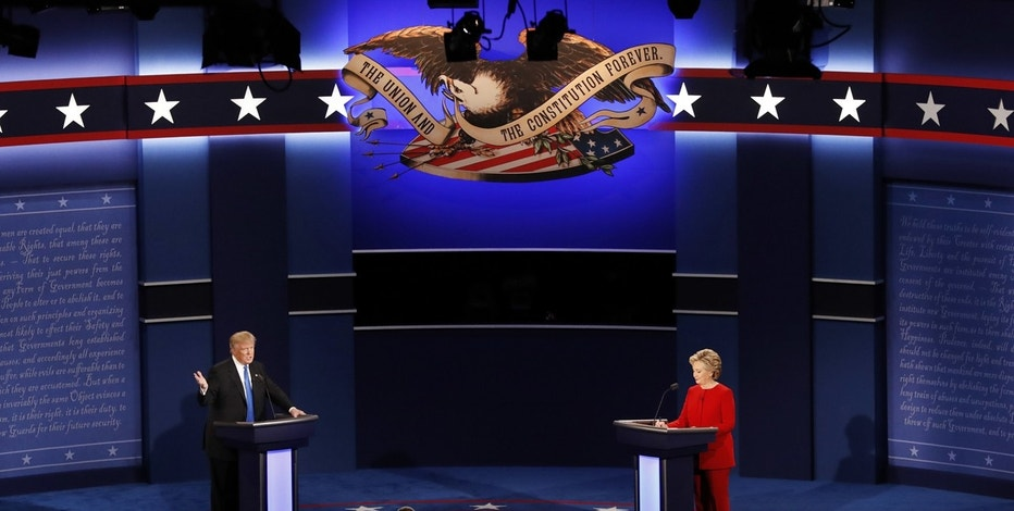clinton trump debate 2016