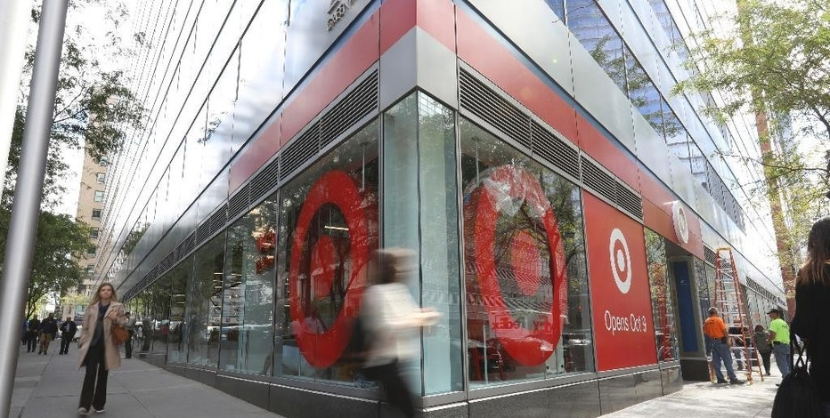 This Tuesday, Oct. 4, 2016, photo provided by Target shows the exterior of a new Target store in Manhattan's Tribeca area, in New York. The discounter opened the store, which is one-third the size of its regular stores, on Wednesday, Oct. 5. It's part of a strategy to open dozens of small stores in the U.S. that are customized to college towns and dense urban markets. (Target via AP)