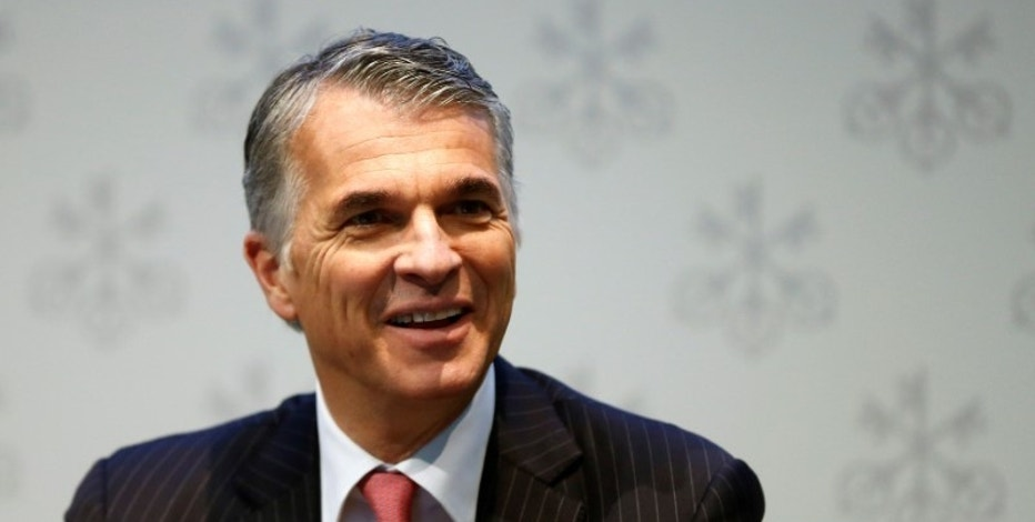 CEO Sergio Ermotti of Swiss bank UBS smiles before an annual news conference in Zurich, Switzerland February 2, 2016. REUTERS/Arnd Wiegmann/File Photo