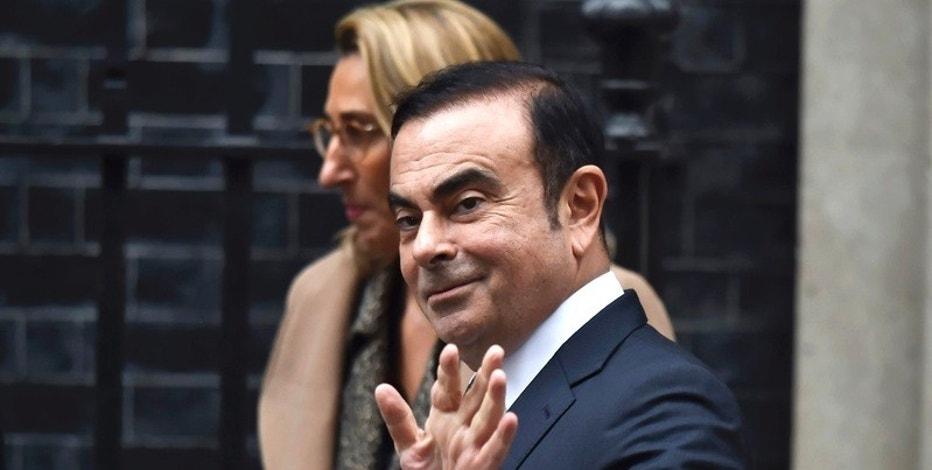 Carlos Ghosn, CEO of Nissan, leaves 10 Downing Street after meeting Britain's Prime Minister Theresa May in London, Britain, October 14, 2016. REUTERS/Hannah McKay