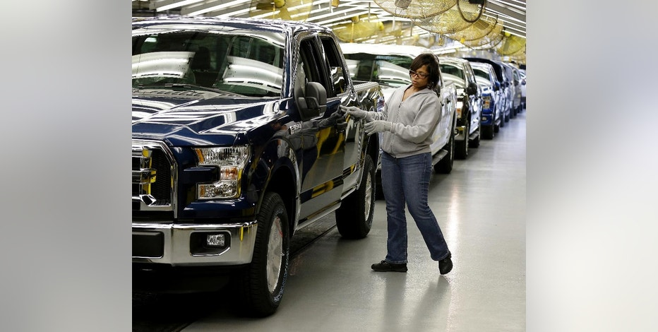 Ford cutting production as us demand slows fox business for Ford motor company kansas city mo