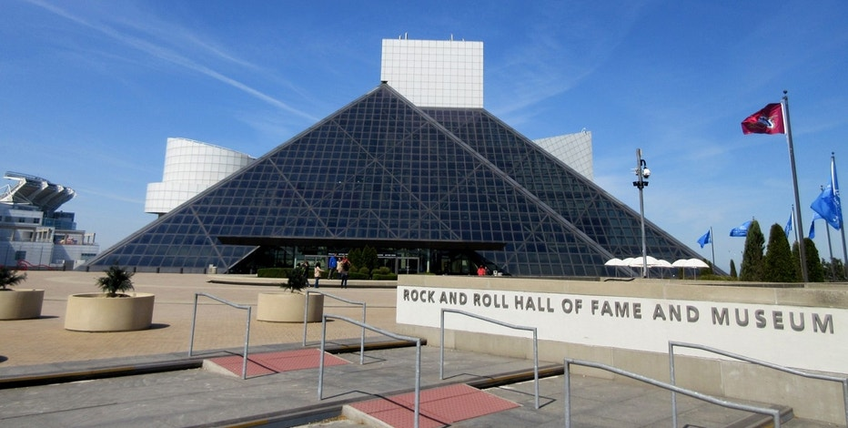 Rock and Roll Hall of Fame Exterior FBN