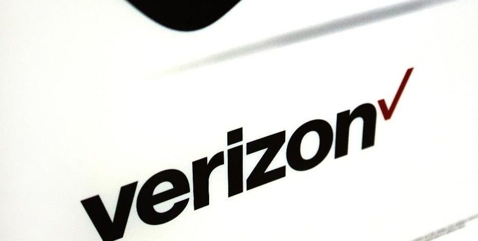 This Monday, July 25, 2016, photo shows signage in a Verizon store in North Andover, Mass. Verizon reports financial results Thursday, Oct. 20, 2016. (AP Photo/Elise Amendola)