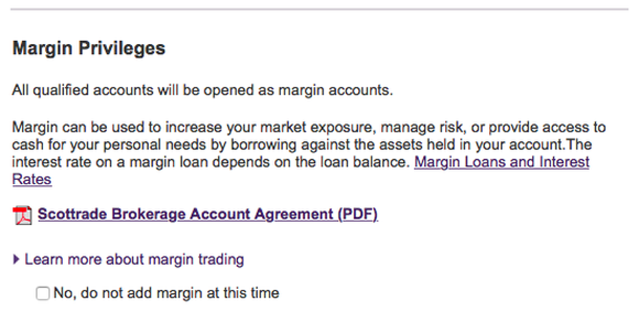 Setting up a broker account